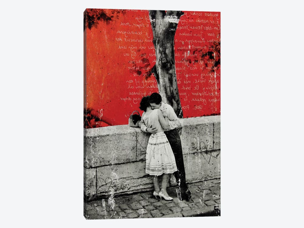 To Be Alone With You by DB Waterman 1-piece Canvas Print