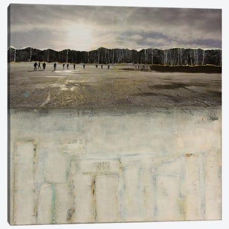 Worlds Apart Canvas Print #DBW40} by DB Waterman Art Print