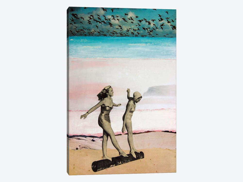Beach Girls by db Waterman 1-piece Canvas Wall Art
