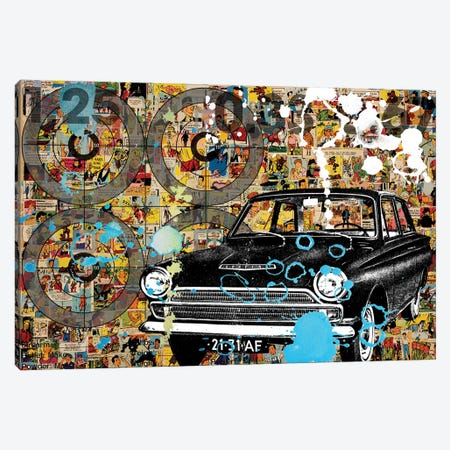 Comics Canvas Print #DBW42} by DB Waterman Art Print