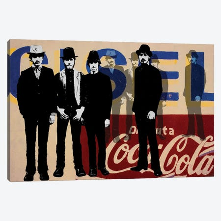 Gang Of Four Canvas Print #DBW43} by DB Waterman Art Print