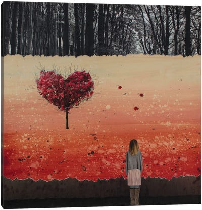Fall In Love Canvas Art Print