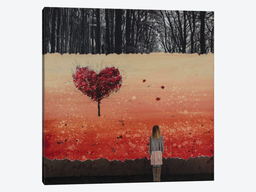 Fall In Love by DB Waterman 1-piece Canvas Artwork