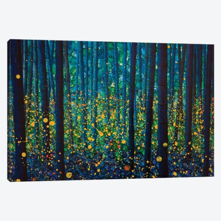 Fireflies Canvas Print #DBW48} by DB Waterman Canvas Art Print