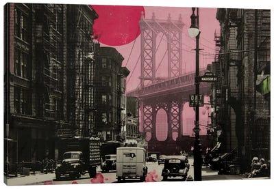 Pink Haze Canvas Art Print