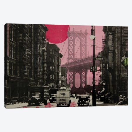 Pink Haze Canvas Print #DBW51} by DB Waterman Canvas Artwork