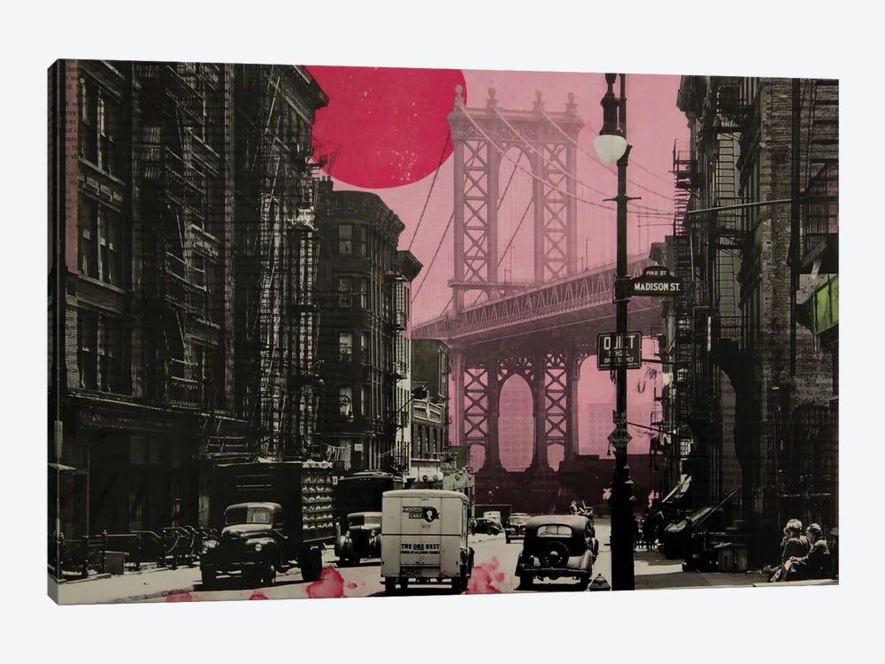Pink Haze by DB Waterman 1-piece Canvas Print