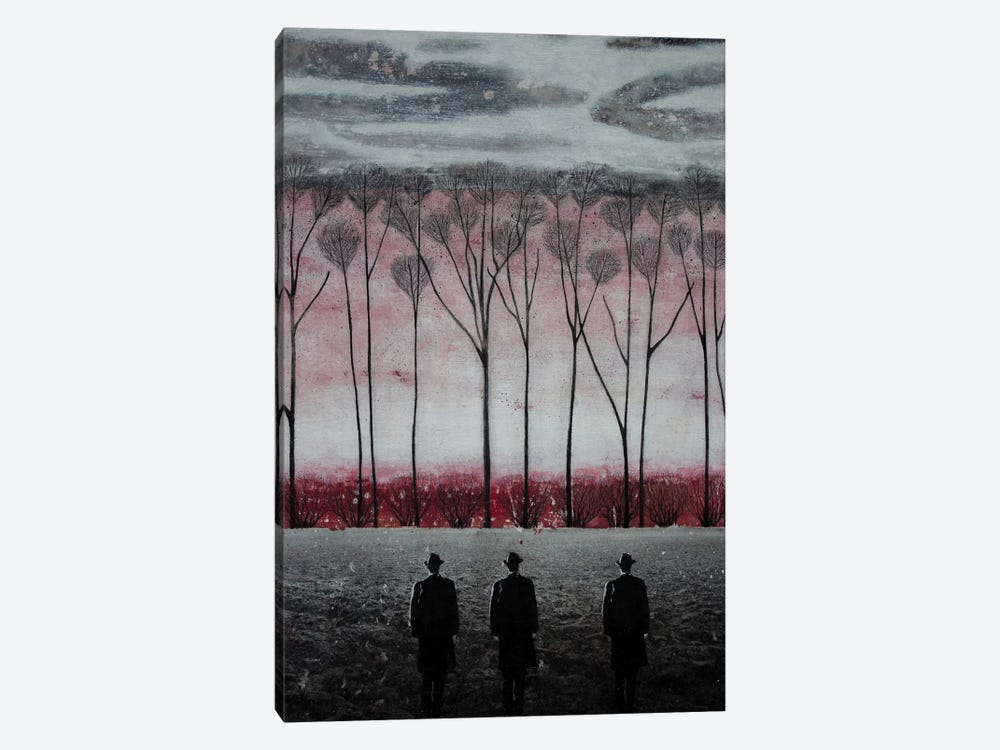 Silent Suits by DB Waterman 1-piece Canvas Wall Art
