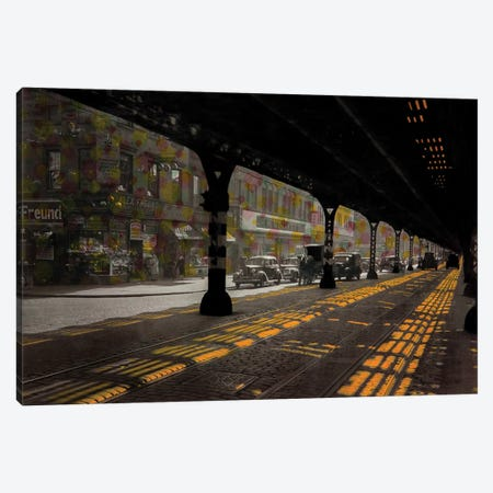 Under The Bridge Canvas Print #DBW55} by DB Waterman Canvas Art Print