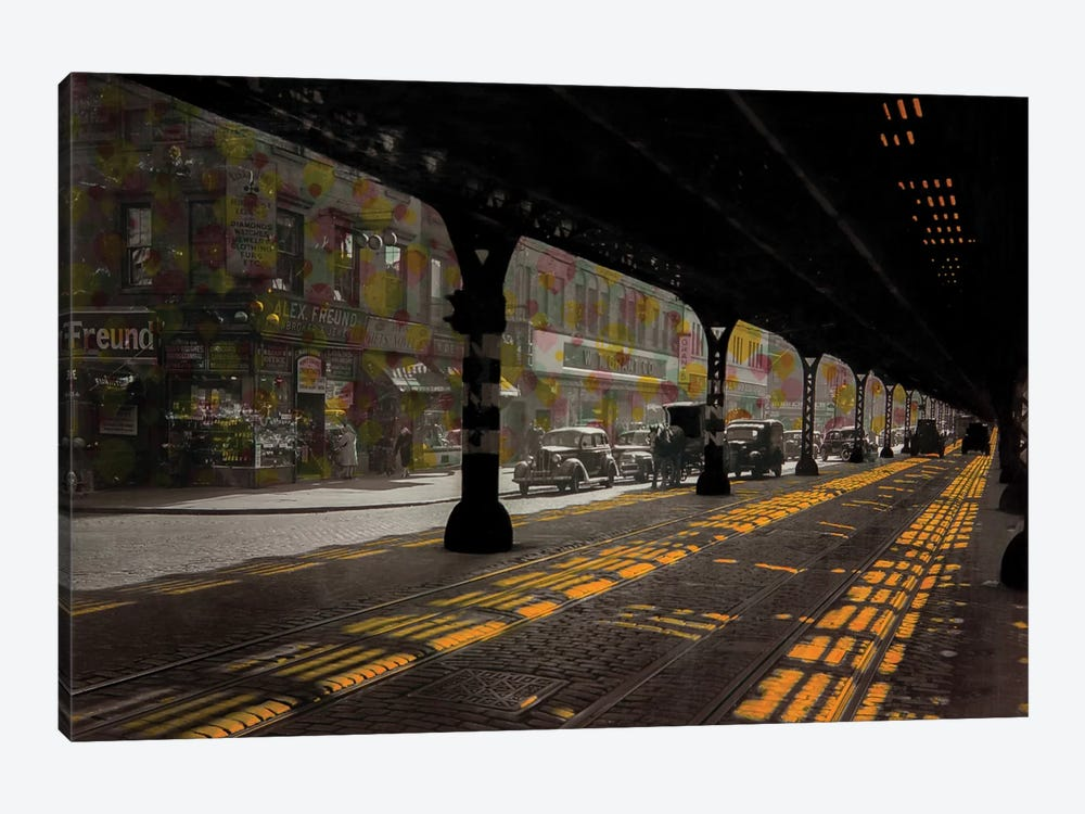 Under The Bridge by DB Waterman 1-piece Canvas Art Print