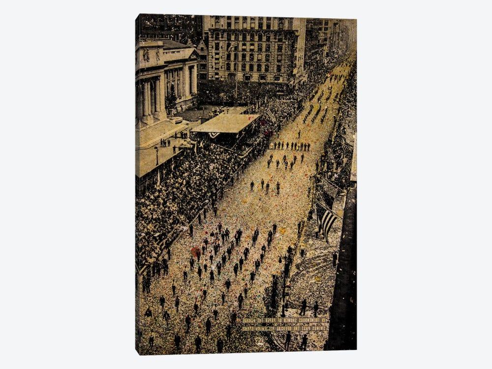 Fifth Avenue, 65,000 Marchers by DB Waterman 1-piece Art Print