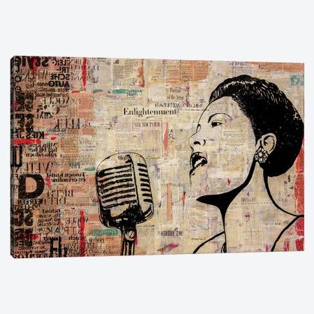 Lady Day Canvas Print #DBW62} by DB Waterman Art Print