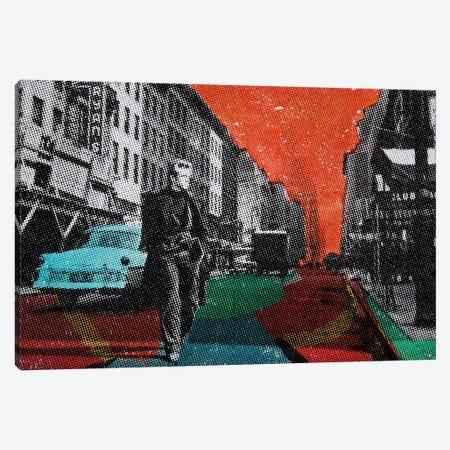 Urban Blues Canvas Print #DBW66} by DB Waterman Canvas Wall Art