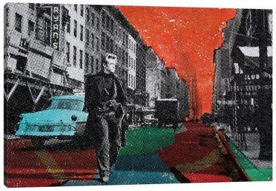 Urban Blues Canvas Art Print