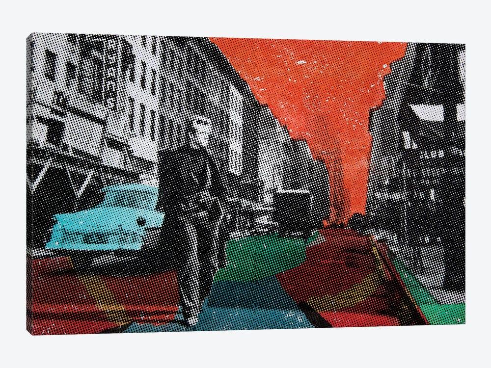 Urban Blues by DB Waterman 1-piece Canvas Art Print