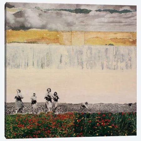 Wallflowers Canvas Print #DBW67} by DB Waterman Canvas Art