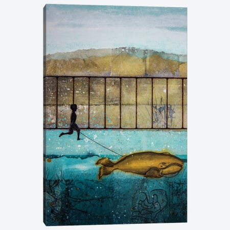 Good Compagnon Canvas Print #DBW69} by DB Waterman Art Print