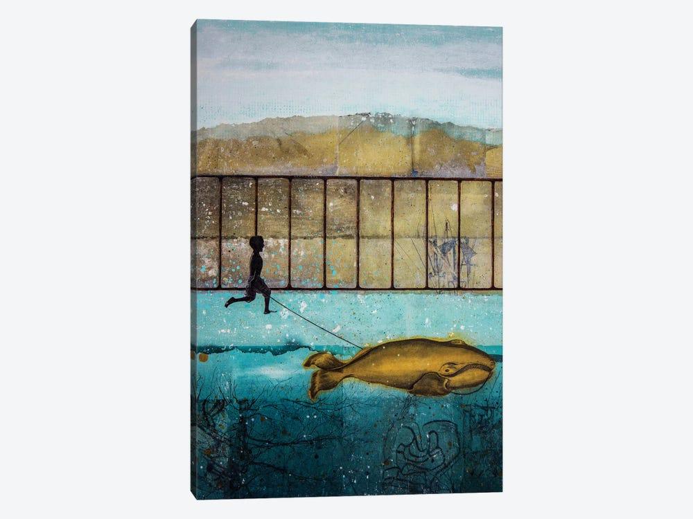 Good Compagnon by DB Waterman 1-piece Canvas Artwork