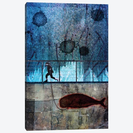 Imaginary Friend Canvas Print #DBW71} by DB Waterman Canvas Artwork