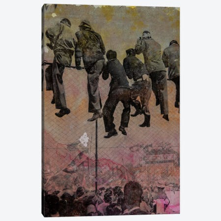 Spectators Canvas Print #DBW75} by DB Waterman Canvas Print