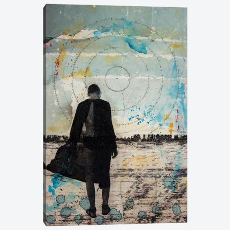 Girl Wandering Canvas Print #DBW80} by DB Waterman Canvas Print