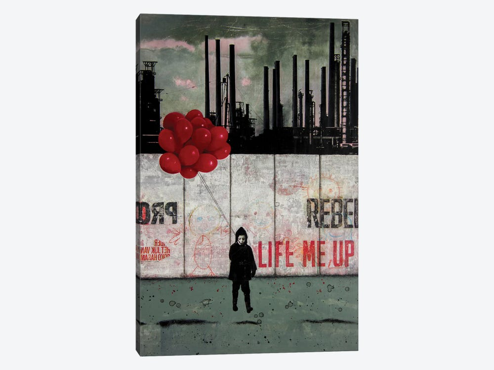 Lift Me Up III by DB Waterman 1-piece Canvas Wall Art