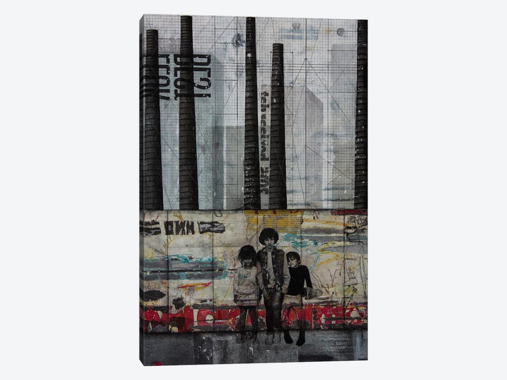 Resistance by DB Waterman 1-piece Canvas Wall Art