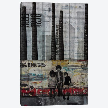 Resistance Canvas Print #DBW87} by DB Waterman Canvas Artwork