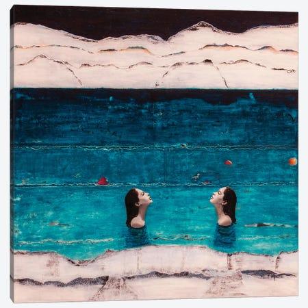 Rising Waters 3-Piece Canvas #DBW88} by DB Waterman Art Print