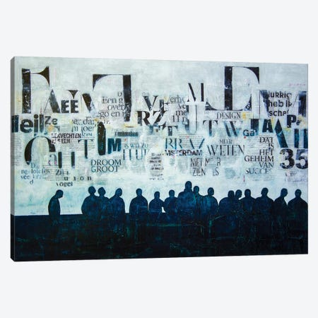 Towards Together Canvas Print #DBW90} by DB Waterman Canvas Wall Art