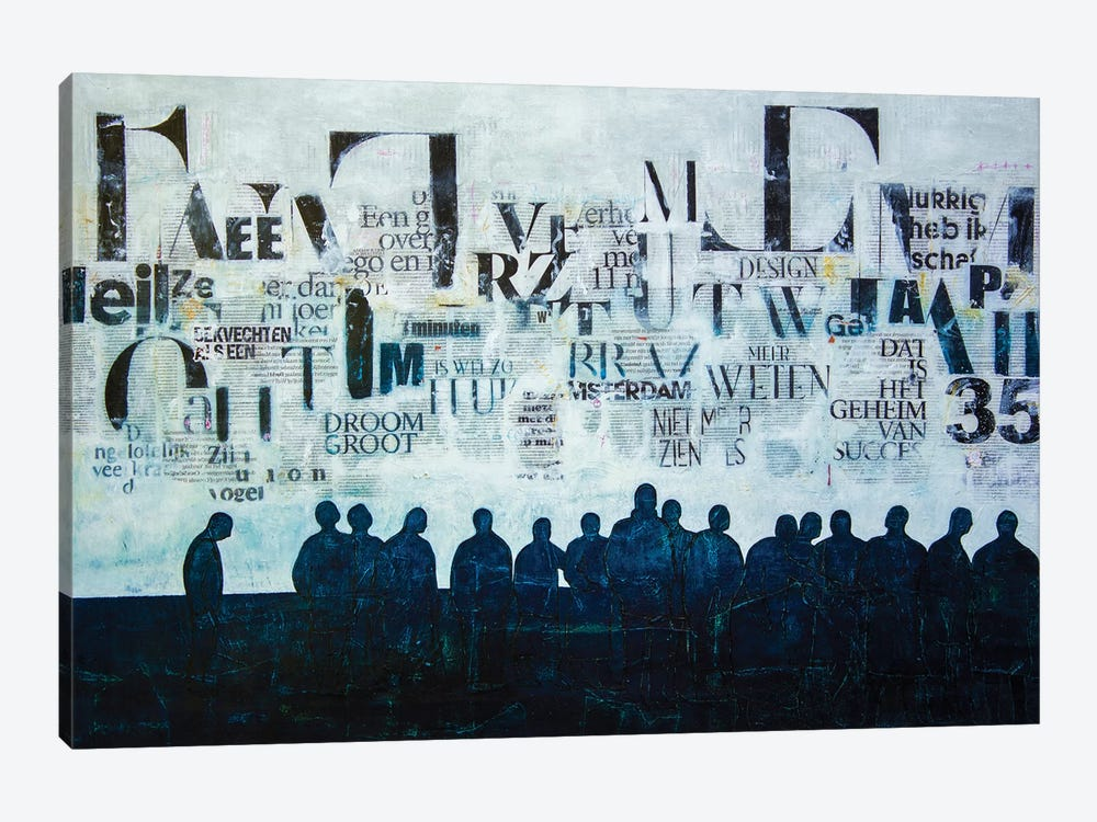 Towards Together by DB Waterman 1-piece Canvas Wall Art