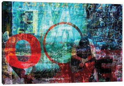 Cornered Canvas Art Print