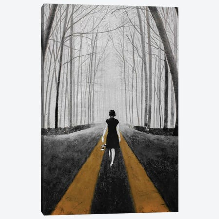 Into The Blue Canvas Print #DBW98} by DB Waterman Canvas Artwork