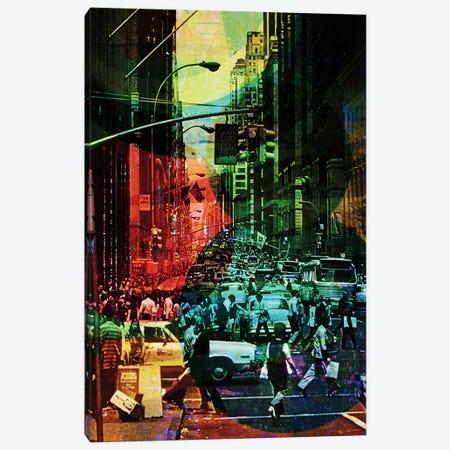 Chaos Canvas Print #DBW9} by DB Waterman Canvas Art