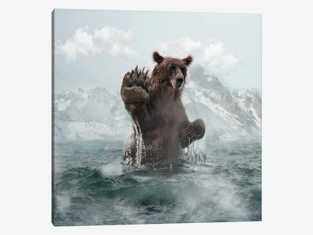 Bear by Dmitry Biryukov 1-piece Canvas Wall Art