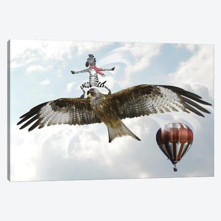 Eagle Canvas Print #DBY27} by Dmitry Biryukov Canvas Artwork