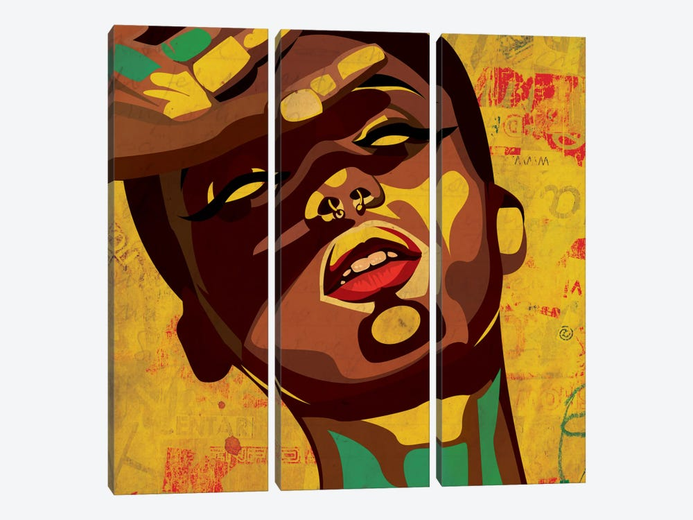 Hannah I by Dai Chris Art 3-piece Art Print