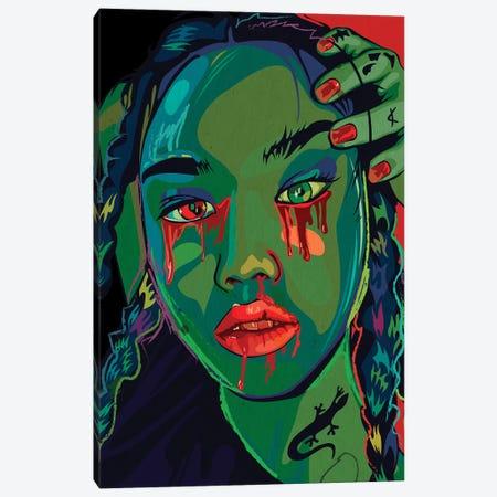 Me Loves Me A Lot Canvas Print #DCA114} by Dai Chris Art Art Print