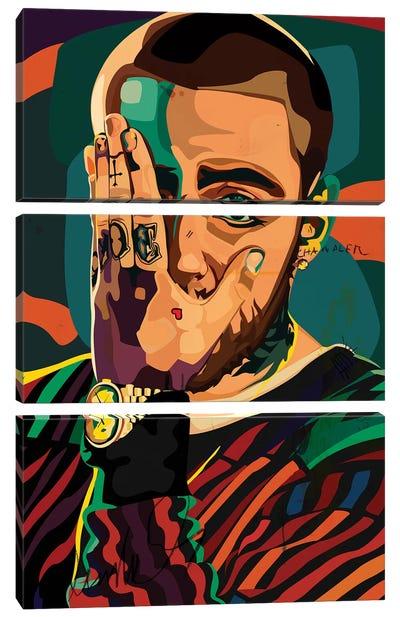 Mac Miller Design Canvas Art Print
