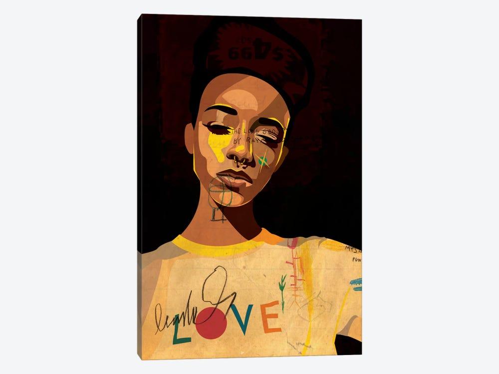 Hannah II by Dai Chris Art 1-piece Canvas Artwork