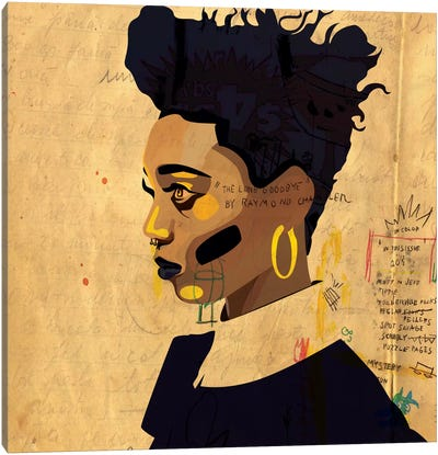 Hannah IV Canvas Art Print