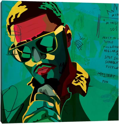 J. Cole Canvas Art Print