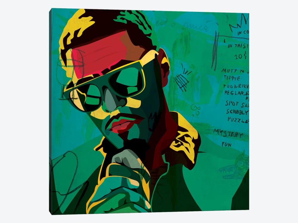 J. Cole by Dai Chris Art 1-piece Canvas Artwork