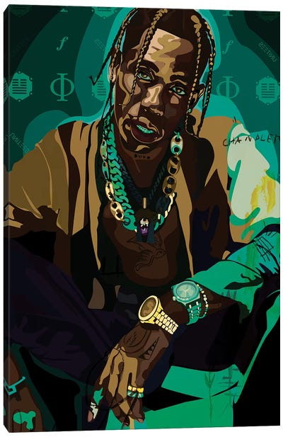 Travis Canvas Art Print