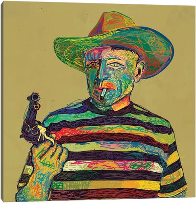 Pablo Canvas Art Print