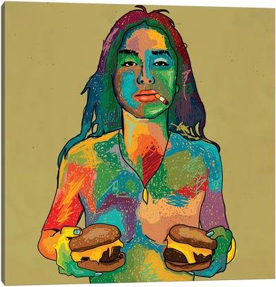 Cheeseburgers Canvas Art Print