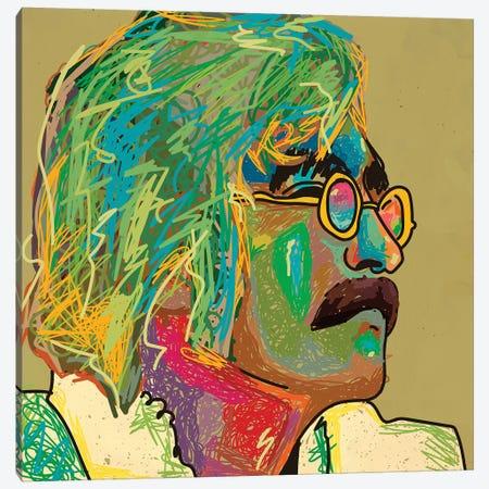 Lennon Canvas Print #DCA184} by Dai Chris Art Canvas Art
