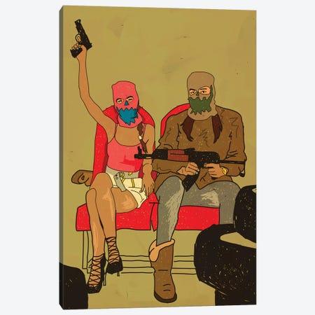 Outlaws Canvas Print #DCA185} by Dai Chris Art Canvas Wall Art