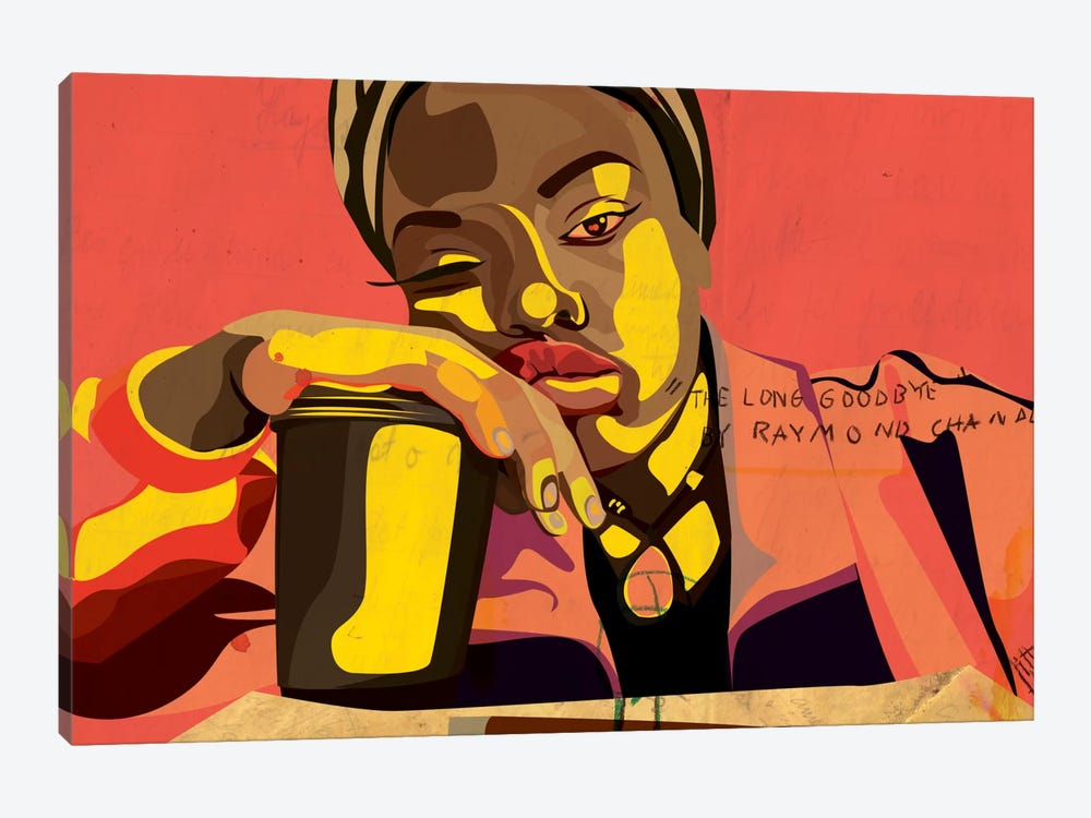 A Bored Xarion by Dai Chris Art 1-piece Art Print