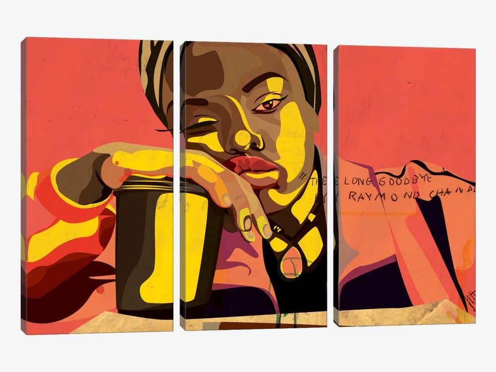 A Bored Xarion by Dai Chris Art 3-piece Art Print
